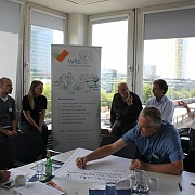 Austausch in den Räumlichkeiten von MSC in München