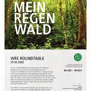 Regenwaldzertifikat für unseren Roundtable