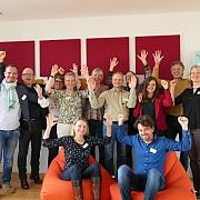 Die Teilnehmer vom WRE Roundtable bei Neue Wege
